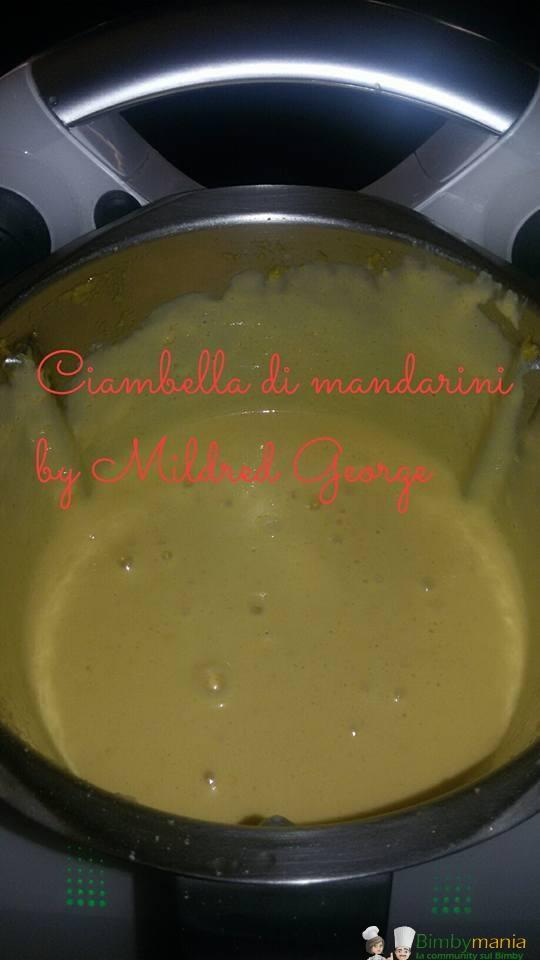Foto ricetta Bimby ciambella mandarino 2