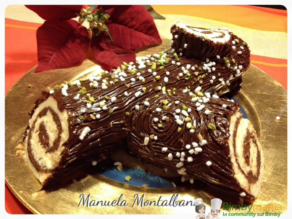 Dolci Di Natale Con Il Bimby.Tronchetto Bimby Alla Nutella Ricette Bimby Tm31 Tm5