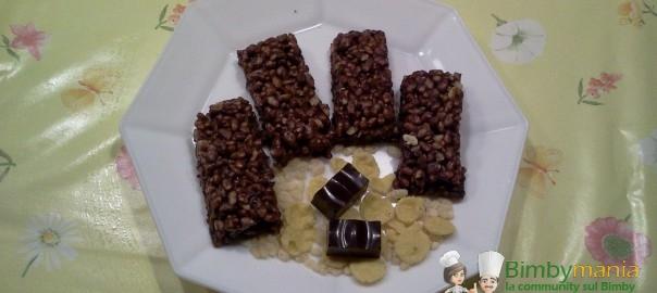 Barrette al cioccolato Bimby