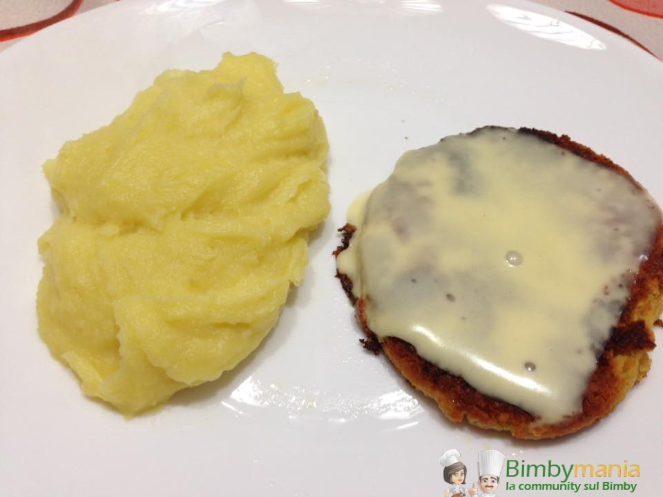hamburger di ceci Bimby