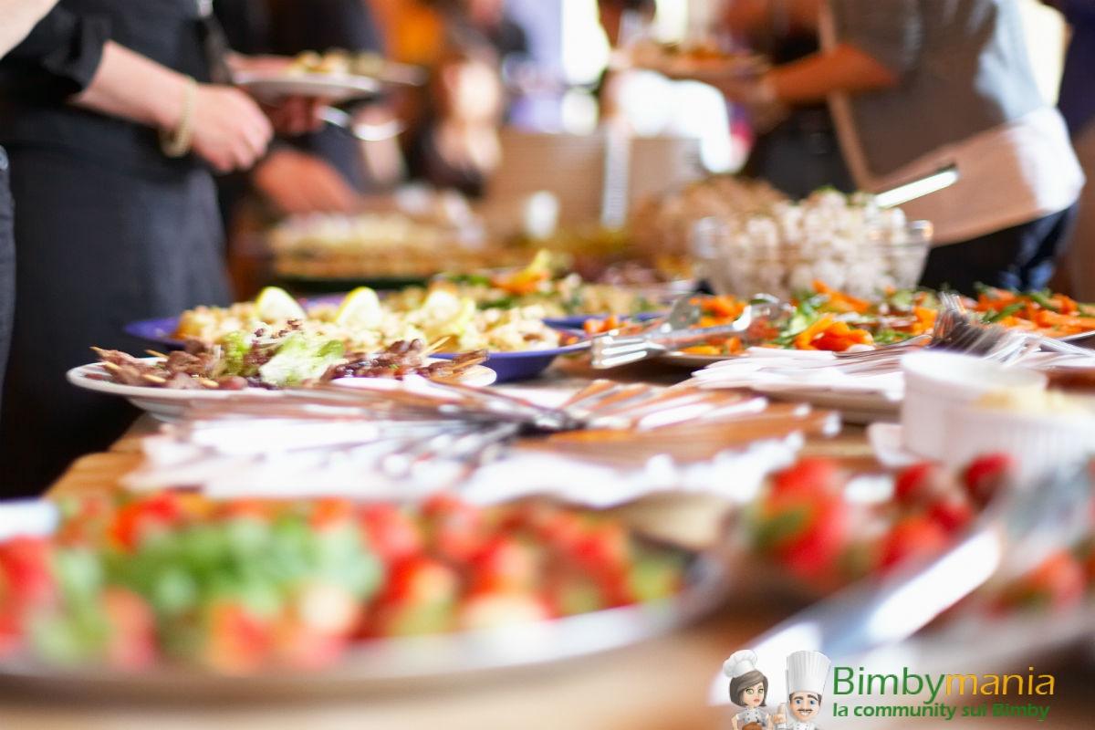 Préférence Buffet salato col Bimby, tante ricette gustose da fare in casa  UI43