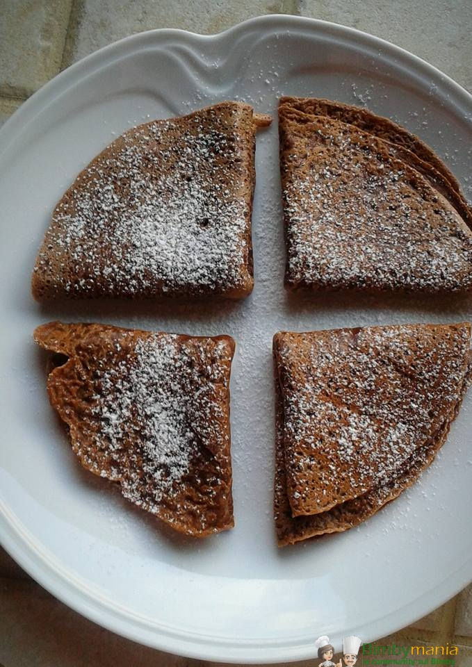 Crepes dolci bimby al cacao ricette bimby for Ricette dolci bimby