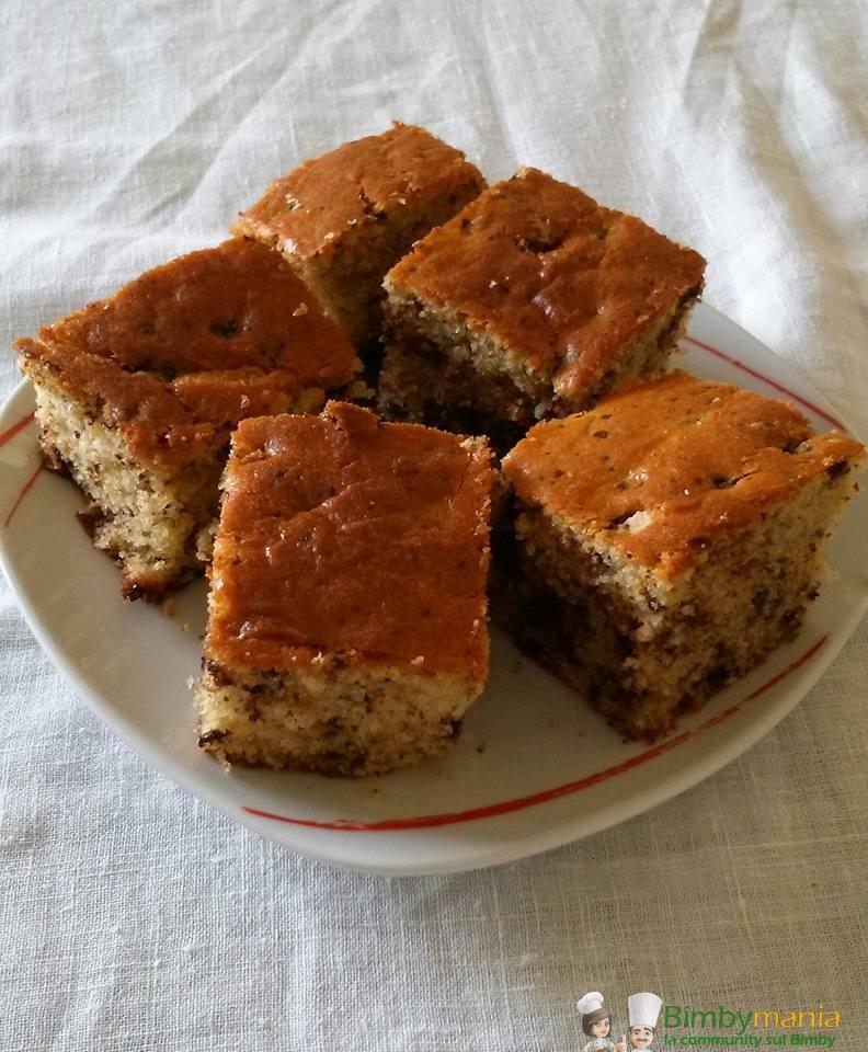 torta ricotta e cioccolato bimby