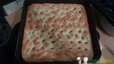 focaccia al parmigiano bimby