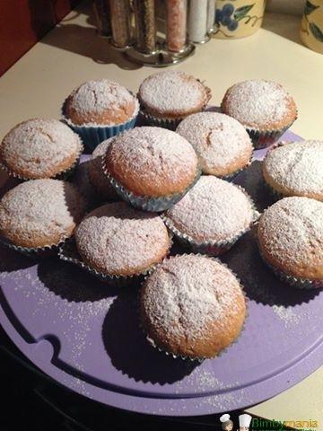muffin nutella bimby