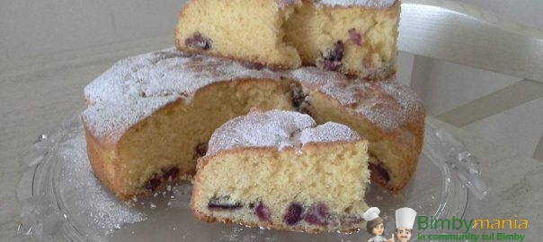torta ciliegie bimby