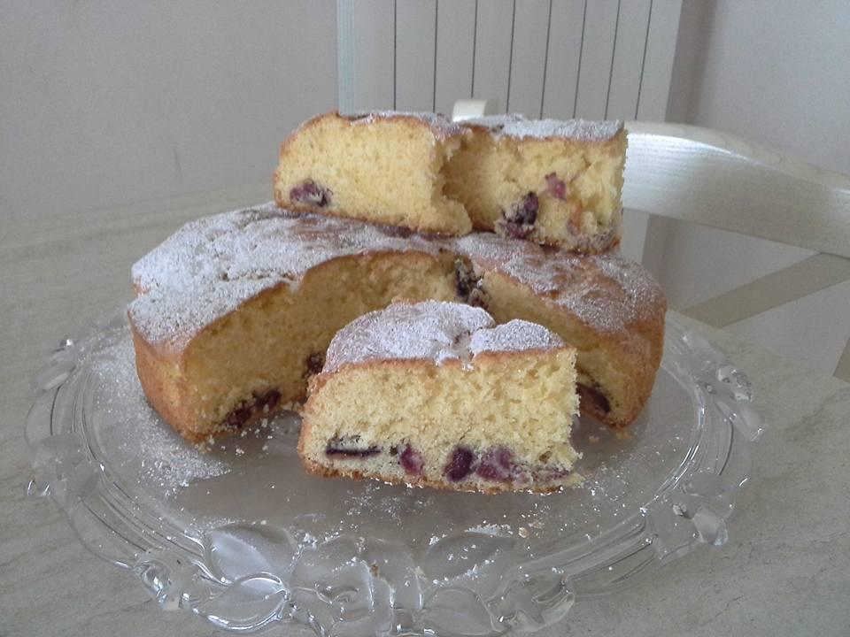 Torta di ciliegie Bimby