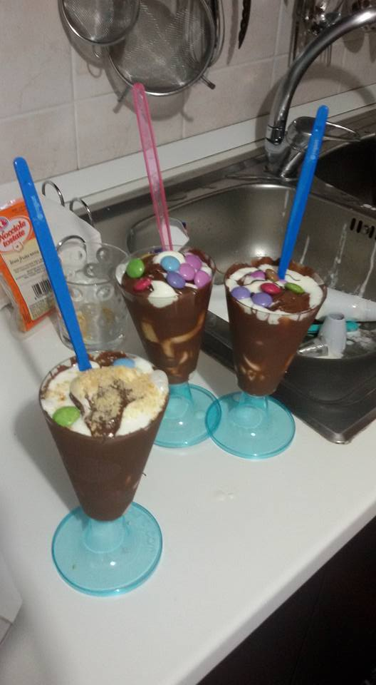 Gelato allo yogurt Bimby con variegatura