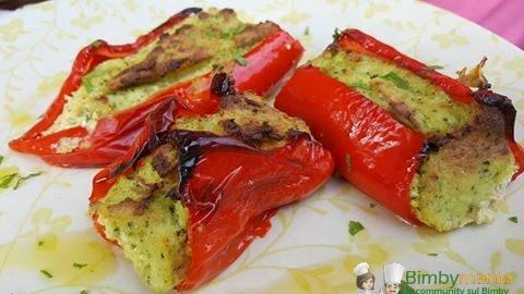 peperoni ripieni vegetariani bimby