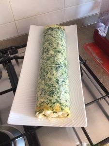 rotolo spinaci bimby