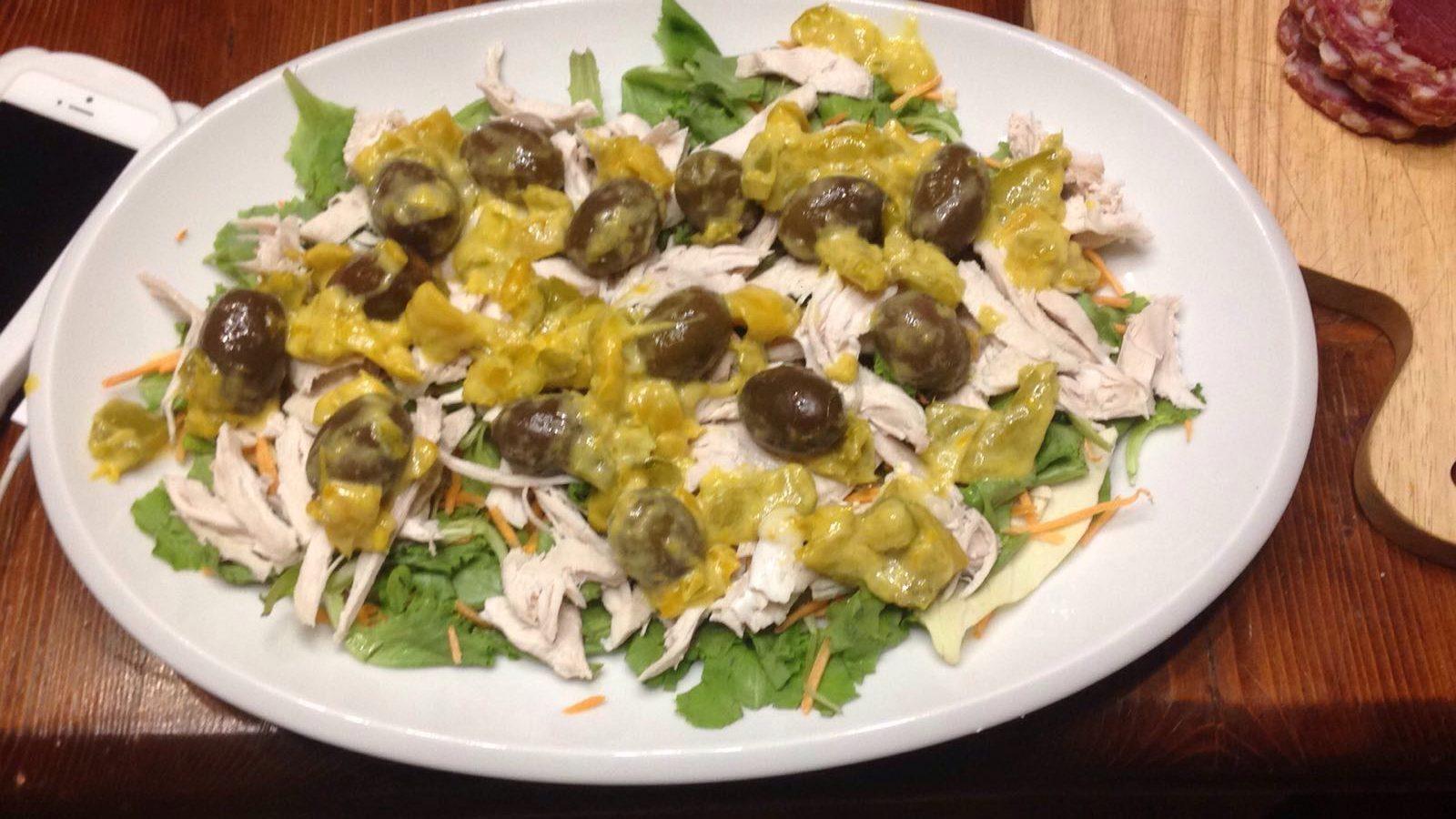 Foto ricetta Bimby insalata di pollo bimby
