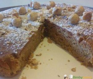 Foto ricetta Bimby torta nocciole e amaretti bimby