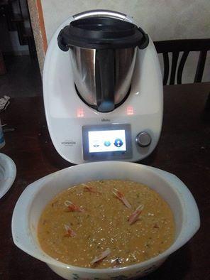 Foto ricetta Bimby risotto-crema-scampi-bimby