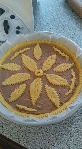 Foto ricetta Bimby crostata-castagne-bimby