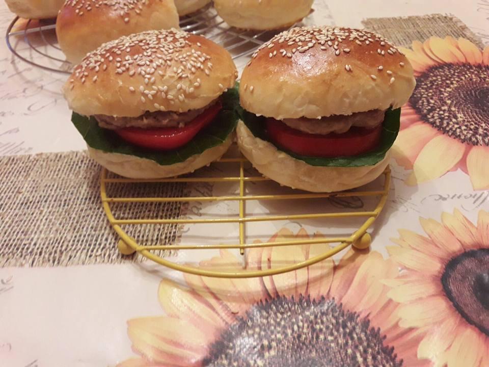 Panini per hamburger tipo Mc Donald col Bimby
