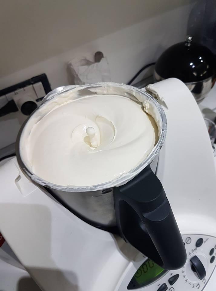 Crema per tiramisù Bimby – dose da 1 kg