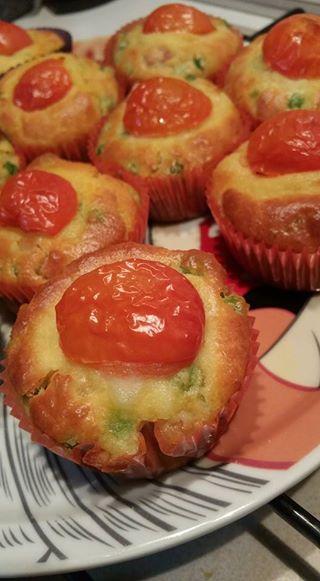 Foto ricetta Bimby muffin salati bimby