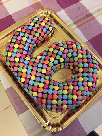 Foto ricetta Bimby torta smarties veloce
