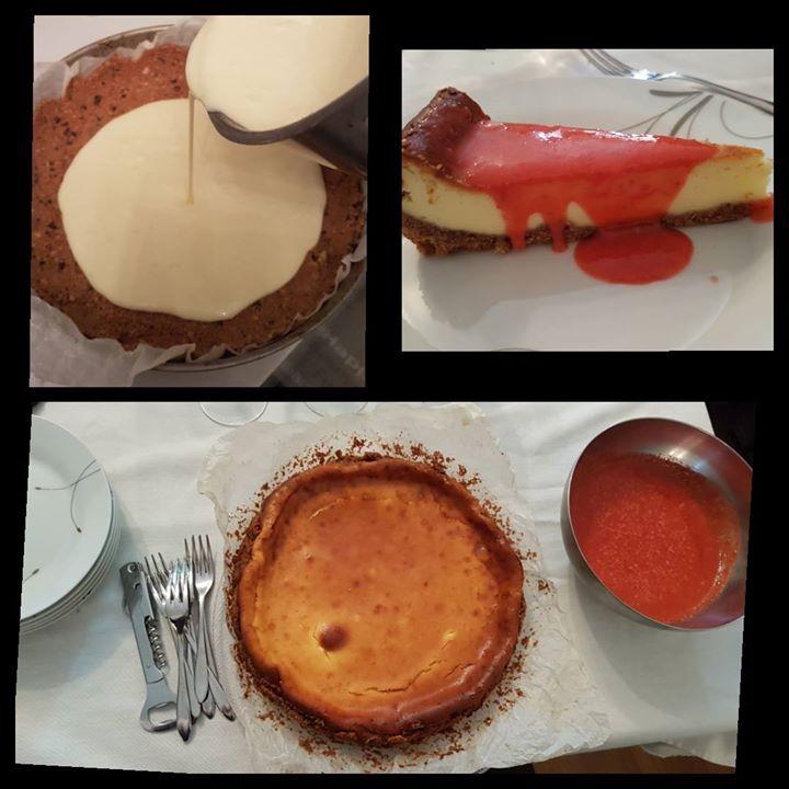 Foto ricetta Bimby cheesecake fragole cotta