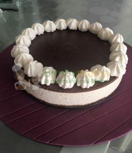 cheesecake vaniglia e cioccolato bimby