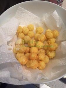 Foto ricetta Bimby patatine puff bimby