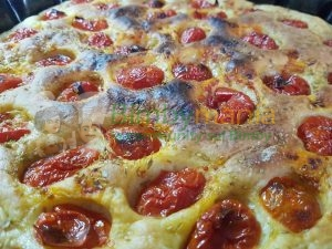 Foto ricetta Bimby focaccia barese bimby