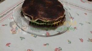torta tiramisu bimby