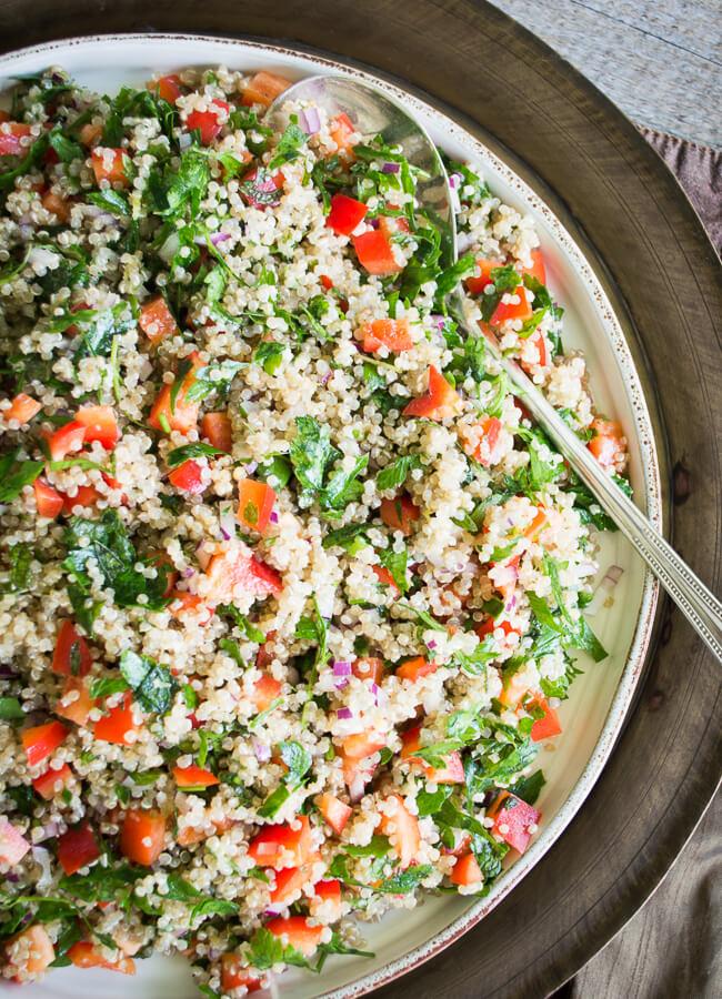 Tabule Quinoa Bimby